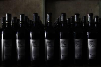 Retas e curvas. Ao fim e ao cabo, a beleza das garrafas se resume a retas e curvas... (foto: Gabriela Di Bella)