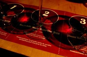 Proposta didática e esteticamente agradável para fruir os vinhos (foto: Gabriela di Bella).