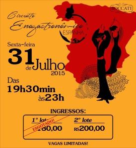 Convite - Circuito Enogastronômico ESPANHA (2)