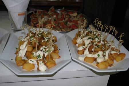 Gastronomia espanhola acompanhou o evento.