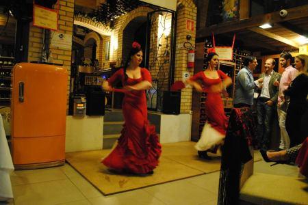 O evento contou com apresentação de dança Flamenca