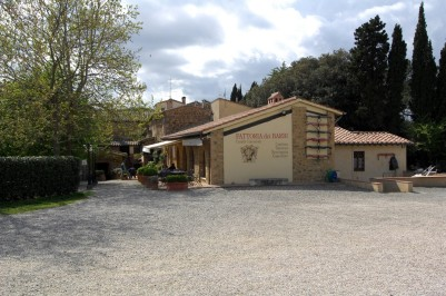 Restaurante localizado na vinícola é parte da tradição de receber visitantes.