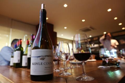 Apresentação dos vinhos da Koyle na Grand Cru de Porto Alegre