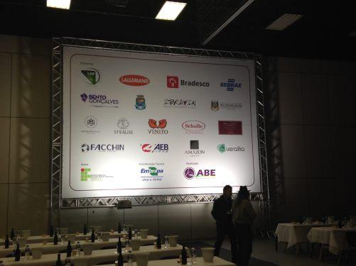 Patrocinadores e apoiadores - um agradecimento a quem viabilizou este belo encontro.