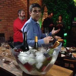 Dia de Apresentação dos vinhos da Alfredo Roca pelo enólogo Afonso Roca.