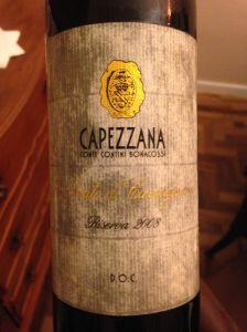 O rótulo molhado do vinhonão faz jus ao conteúdo da garrafa - sublime!